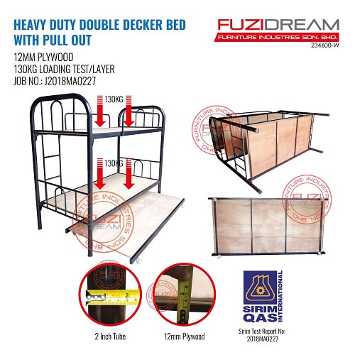 katil-asrama-double-decker-pull-out-bed-frame