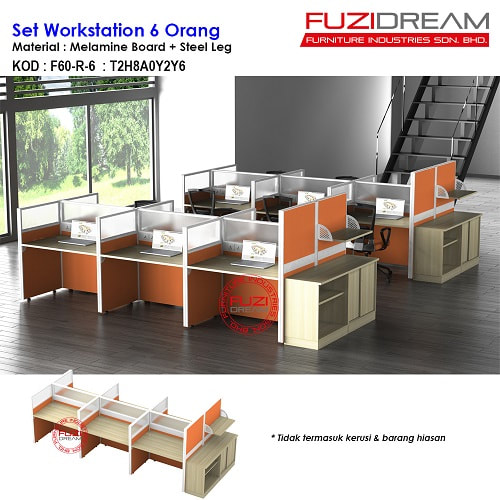 meja-partition-pejabat-office-workstation-petisyen-patisyen