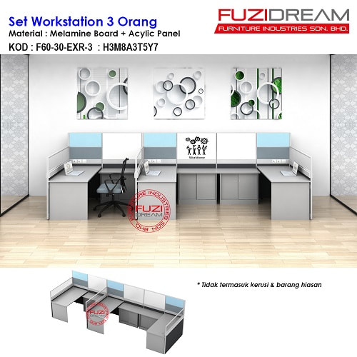 meja-partition-pejabat-workstation-table-moden-supplier-harga