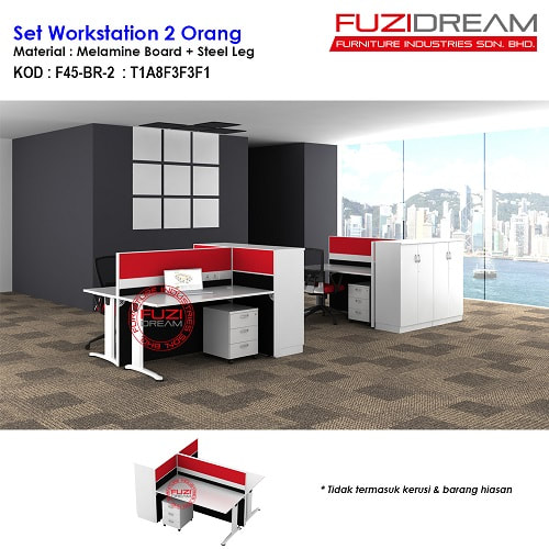 set-workstation-pejabat-partition-pejabat-offie-workstation-murah-harga-price